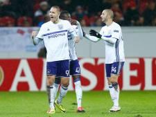 EN DIRECT: Un bon point pour Anderlecht à Mayence (1-1)