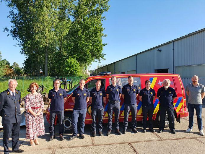 De nieuwe brandweerpost Lille is een feit.