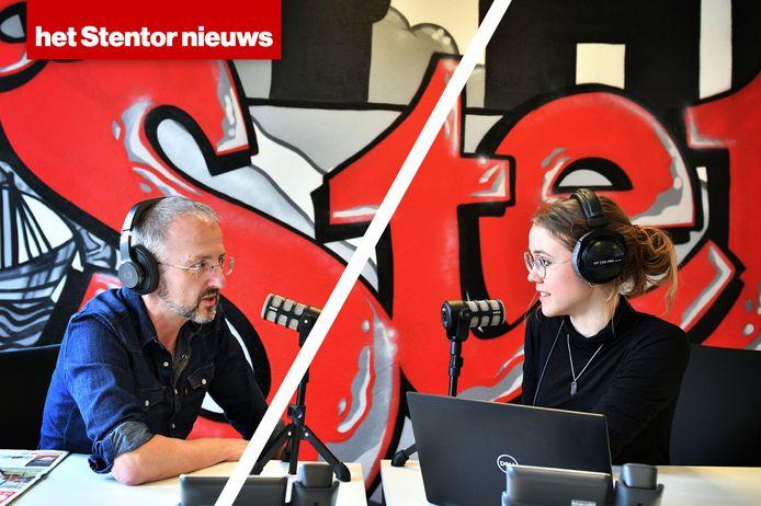 Emma Somsen en Sander Lindenburg spreken voor jou op werkdagen het Stentor Nieuws in! Er zijn nieuwsbulletins om 11:30 en 17 uur