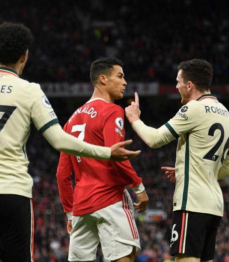 Le mauvais geste de Cristiano Ronaldo contre Liverpool