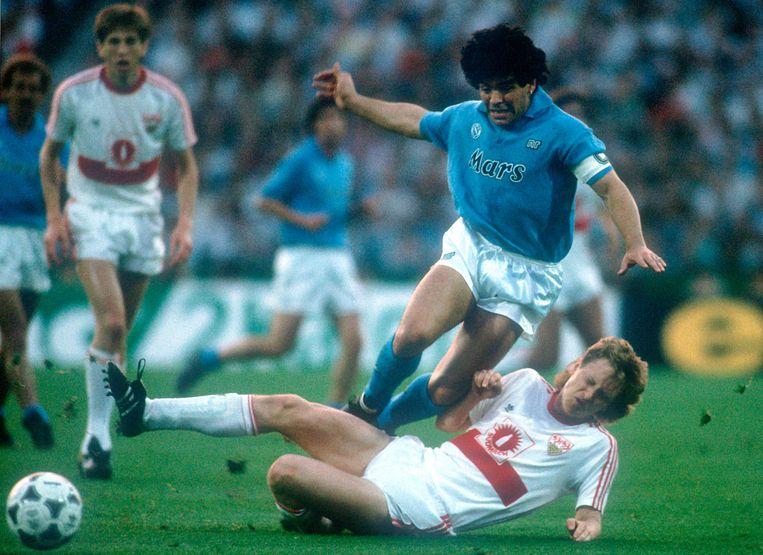 Diego Maradona. Beeld BSR Agency