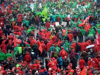 Vakbonden opgetogen: 100.000 actievoerders op de been voor nationale betoging