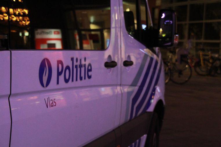 Politiezone Vlas (Kortrijk, Kuurne, Lendelede) kon de man arresteren. Beeld Alexander Haezebrouck