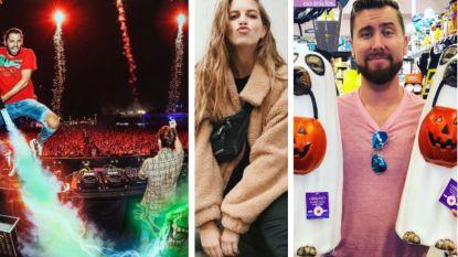 SHOWBITS. Dimitri Vegas verdelgt spoken op Ibiza, Bab Buelens deelt kusjes uit en deze *NSYNC-ster kan niet kiezen