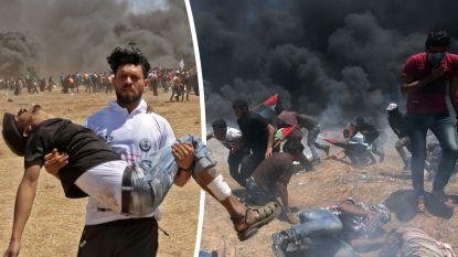 """""""Slachtpartij op ongewapende burgers"""": 58 doden en 2.771 gewonden nadat Israëlisch leger met scherp schiet"""