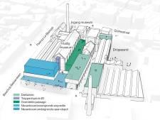 B en W Tilburg: 'Museumkwartier moet gaan bruisen als Piushaven en de Spoorzone