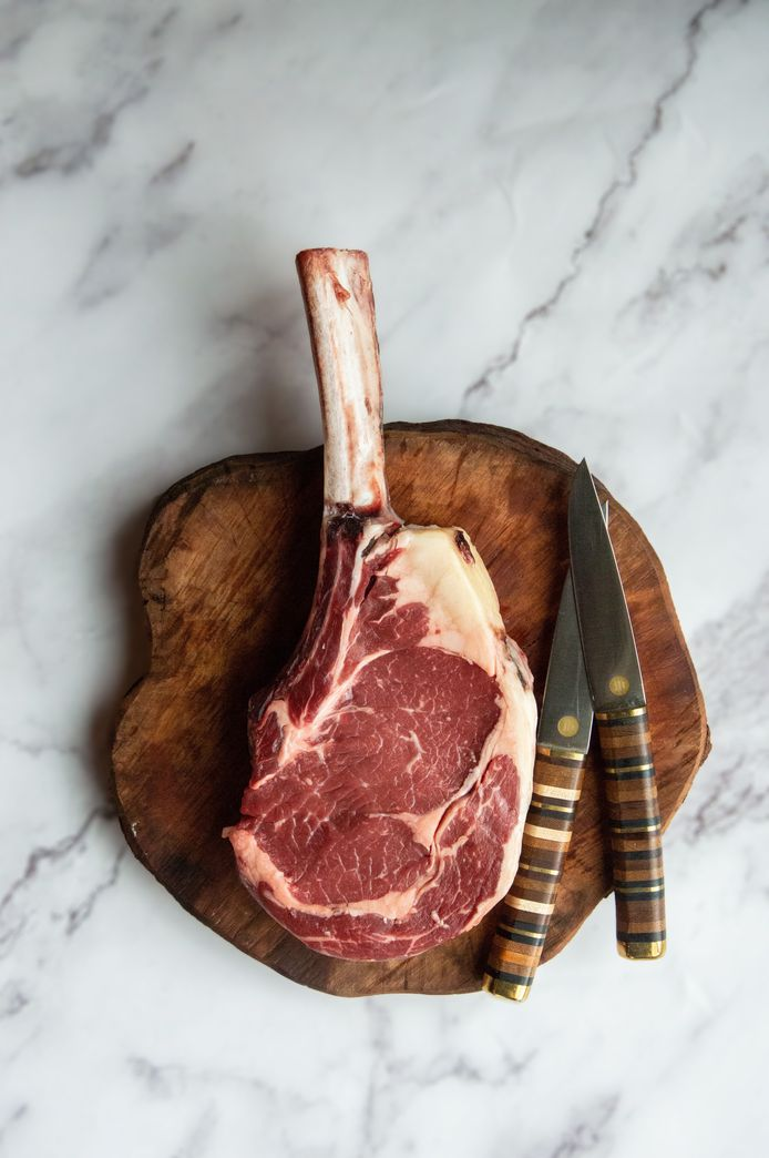 Tomahawk-steak.