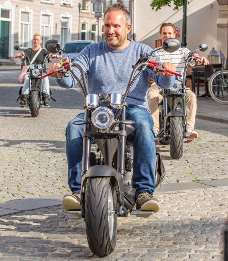 Een rondje Bergen op Zoom met de e-chopper: 'Kijk mij eens stoer wezen'