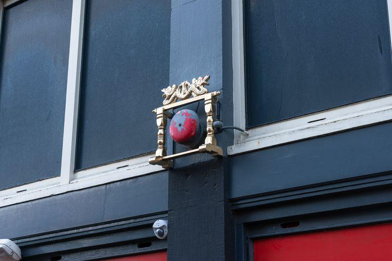 Van Limburg Stirumstraat Beeld Streetart Frankey