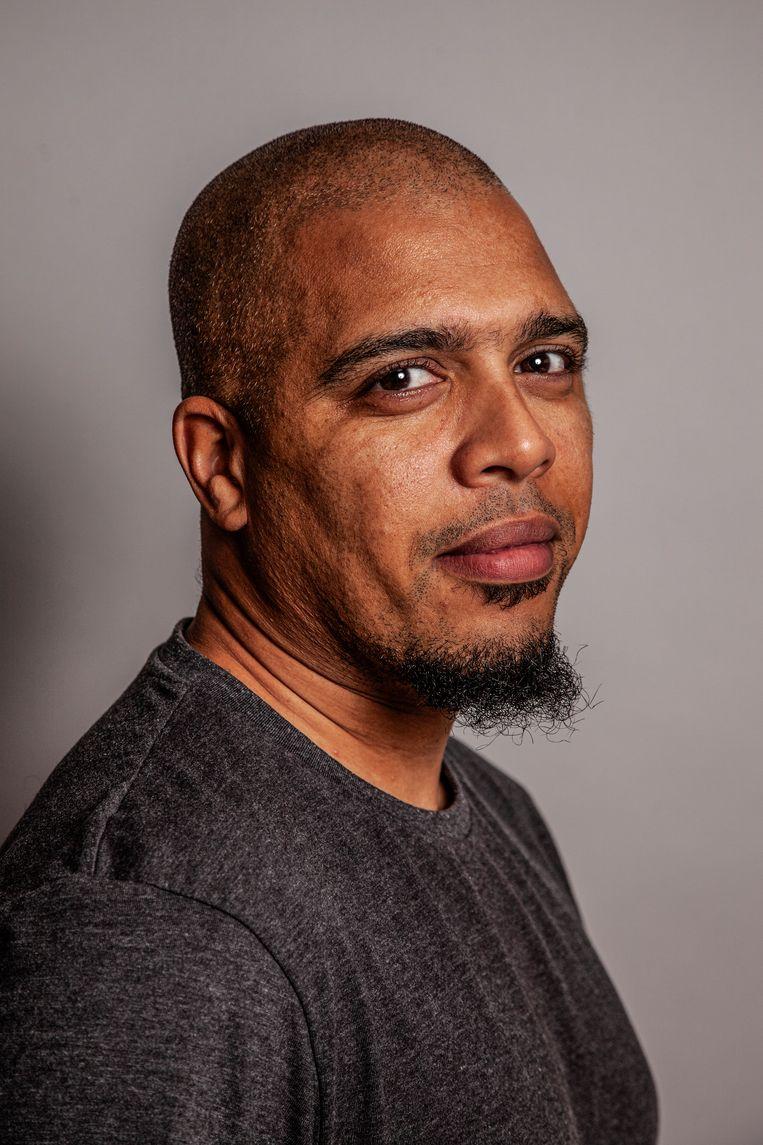 Mohammed Jâouna: 'Ik probeer te zijn wie ik zelf vroeger miste.' Beeld Ernst Coppejans