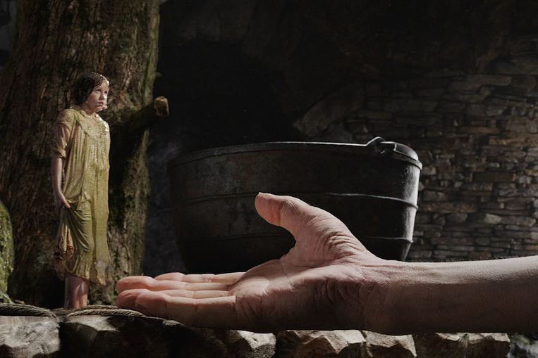 Ruby Barnhill in The BFG van Steven Spielberg. Beeld