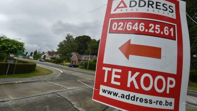 Le prix médian d'une maison en Belgique à 230.000 euros, la Région wallonne reste la moins chère