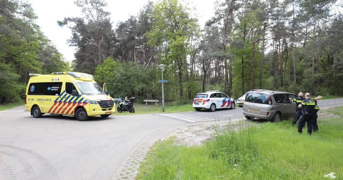 Motorrijder gewond bij ongeluk in buitengebied bij Dalmsholte.