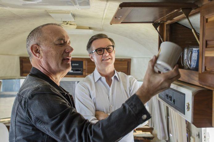 Tom Hanks liet de Airstream helemaal naar eigen wens inrichten.