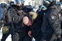 De politie in Moskou waarschuwt dat ook daar aanhouding zullen worden verricht bij illegale demonstraties.
