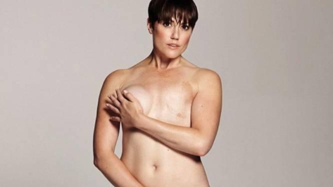 Jonge vrouw met borstkanker vertelt verhaal in fotoreeks