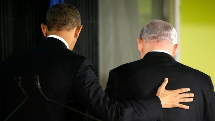 Barack Obama et Benjamin Netanyahu (archives)