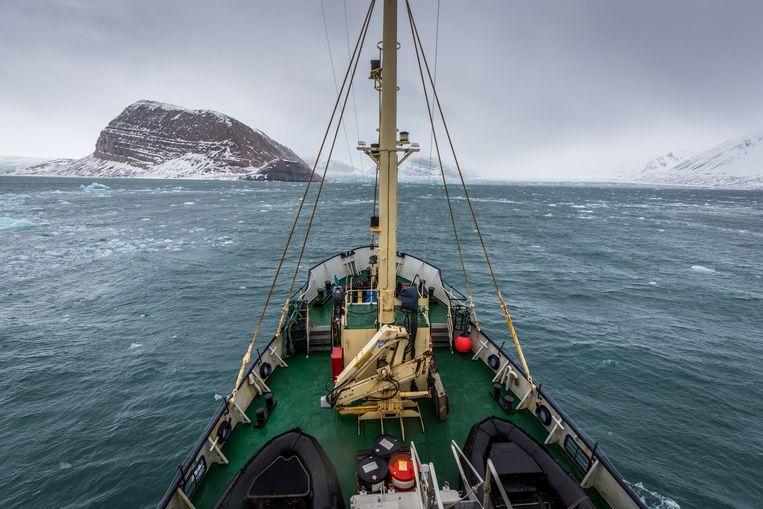 De EU wil meer vis vangen in de wateren rond Spitsbergen dan Noorwegen toestaat. Beeld Eric Fokke