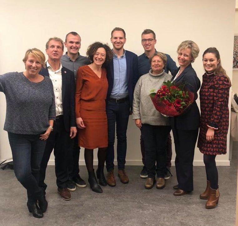 Het nieuwe bestuur van sp.a provincie Antwerpen.