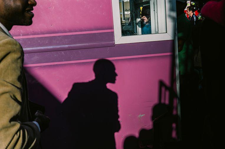 Brussels Street Photography Festival. Beeld RV/© Hakan Simsek
