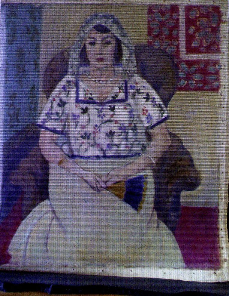 Bijna 1.500 schilderijen, waaronder deze Matisse, werden aangetroffen in de woning van Gurlitt. Beeld AFP