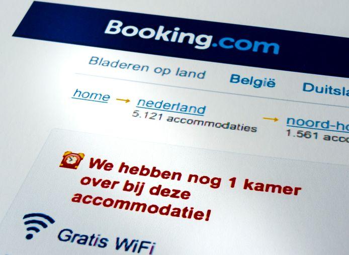 De hotelboekingssite wordt hard getroffen door de coronacrisis.