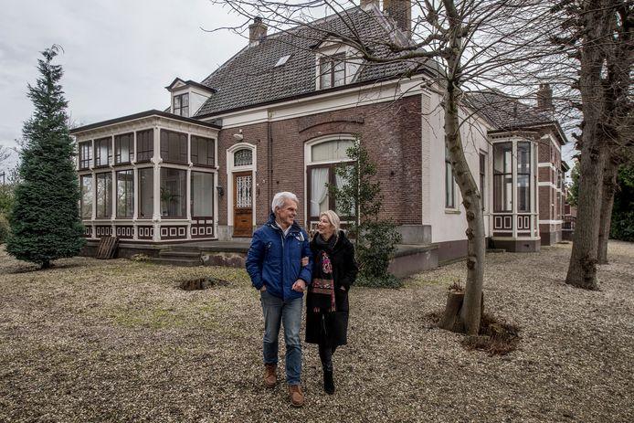 Henk Plessius en zijn zus Jeannette Plessius-Pellegrom willen van hun rijksmonument een zorgcomplex maken.
