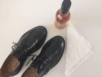 Met dit huishoudmiddel zien je leren schoenen er weer uit als nieuw