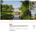 Het landgoed stond uiteindelijk voor 2,35 miljoen euro op Funda.