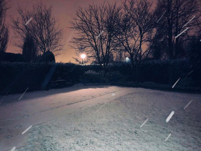 Sneeuw in Eindhoven