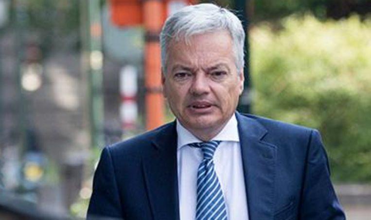 Belgisch minister van Buitenlandse Zaken Didier Reynders (MR). Beeld photo_news