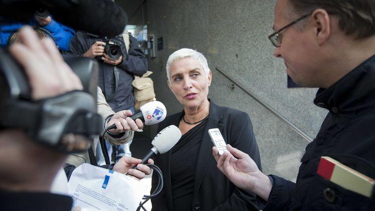 Staatssecretaris Wilma Mansveld Beeld null