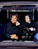 Als een van de weinigen strikte ze Michael Jackson voor een interview, in '93.