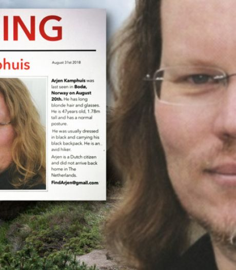 Noorse politie heeft drie scenario's voor verdwijning Arjen Kamphuis