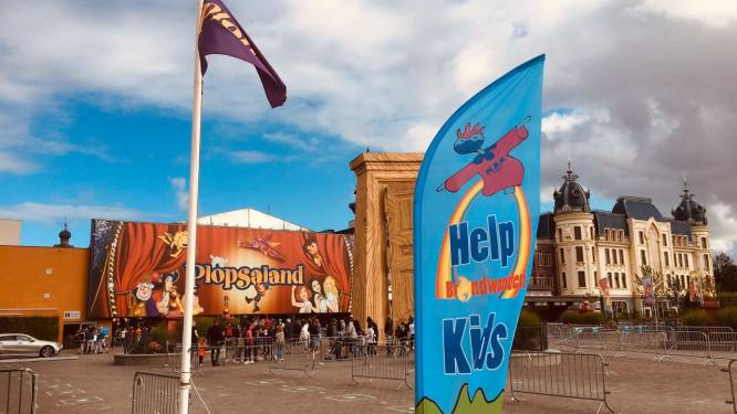 Help Brandwonden Kids laat 107 patiëntjes genieten in Plopsaland