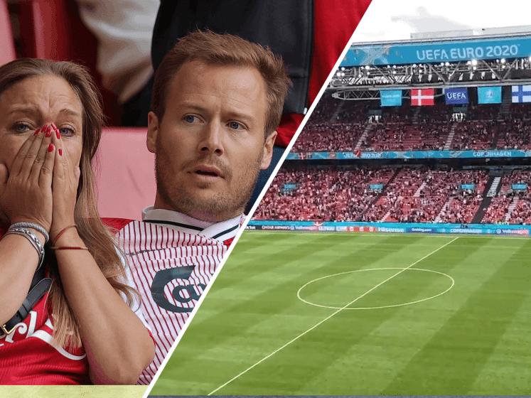 Kippenvel: Deense en Finse fans scanderen naam Eriksen na drama