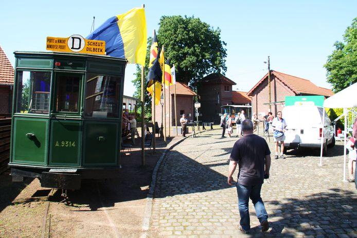Het Trammuseum in Schepdaal dat sinds de komst van Pascal Mathieu een tweede adem kreeg.
