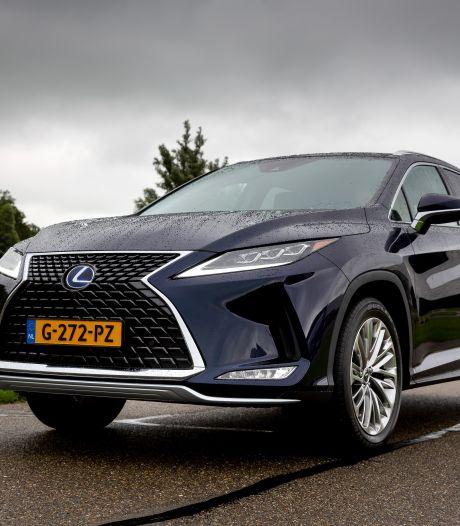Test Lexus RX: rijdt heerlijk, kan zuiniger