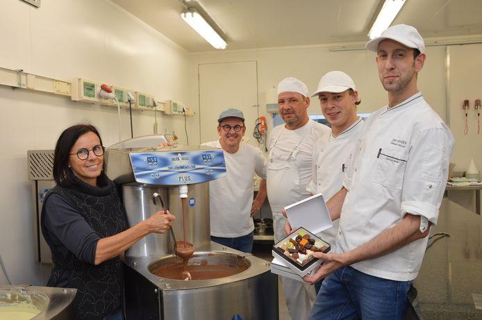 Archiefbeeld - Patissier-chocolatier Jan Andries in Meerbeke.