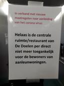 De centrale ruimtes in De Doelen vallen onder de verantwoordleijkheid van zorginstelling De Volkaert (vanaf 1 januari Mijzo geheten).