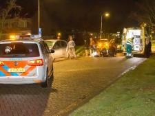 Scooterrijder rijdt door na aanrijding met vrouw in Oss, komt later wankelend terug en wordt aangehouden