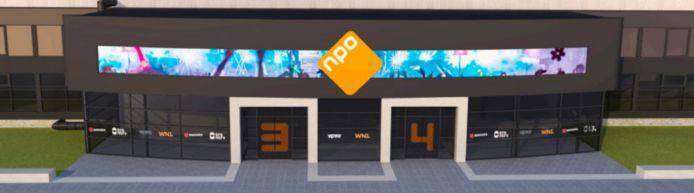 Impressie van Studio 3 en 4 op het Hilversumse Mediapark