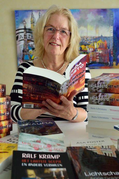 Edith Sybesma is succesvol met vertalen van spannende boeken