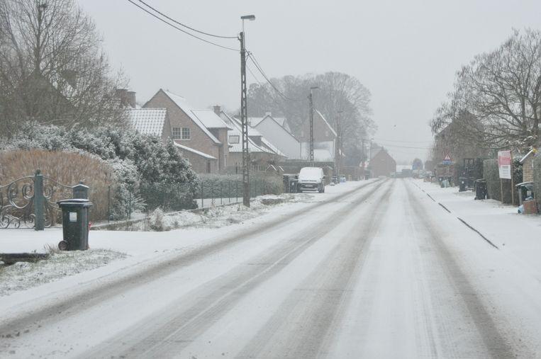 Alle steden en gemeenten in de Vlaamse Ardennen waren voorbereid op de sneeuwval, al bleef voorzichtigheid toch geboden.