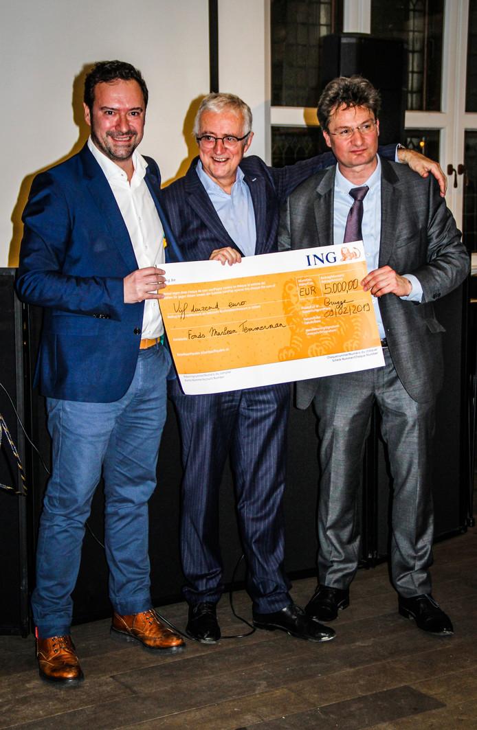 Brugge cheque fonds Marleen Temmerman