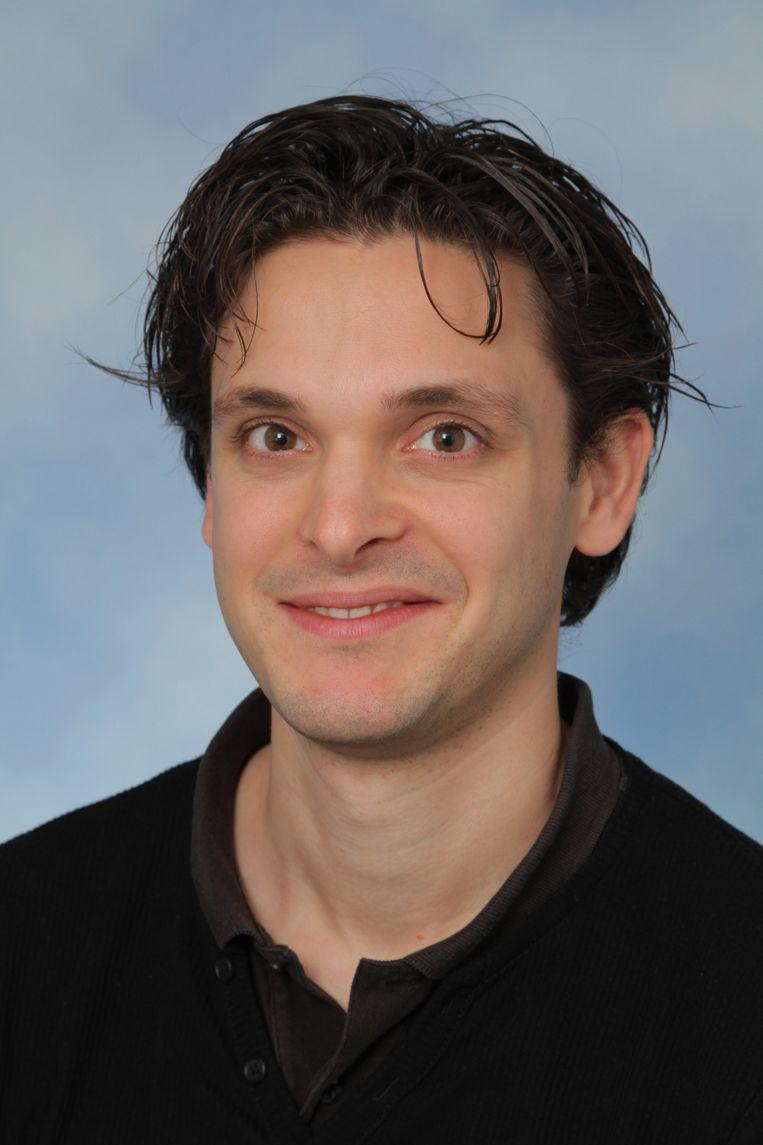 Martin Harterink (37), celbioloog bij de Universiteit Utrecht. Beeld