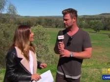"""Chris Hemsworth fait une apparition surprise dans une émission TV: """"Dois-je m'occuper des prévisions météo?"""""""