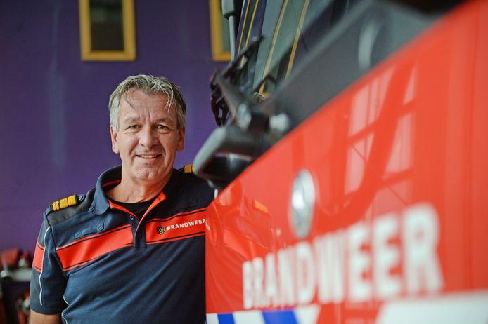 Stephan Wevers, Commandant brandweer.