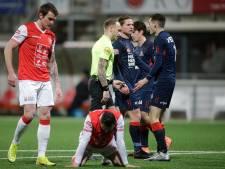 Een avond van gemiste kansen voor Helmond Sport in De Geusselt: 'Nooit, maar dan ook nooit een penalty'