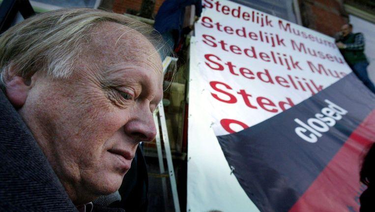 Het kon gewoon niet slechter toen ik aantrad, aldus Hans van Beers over zijn benoeming bij het Stedelijk Museum. Beeld anp